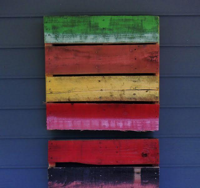 sara's art* house: pallet art