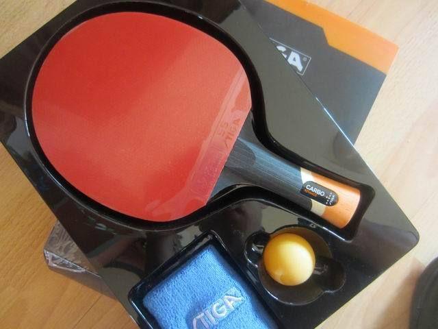 Originale Stiga Carbo 6 Stelle Ping Pong Racchette Vestito Per