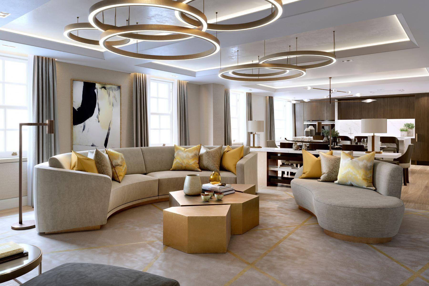 Good West Fitzrovia, Luxury Interior Design | Laura Hammett · Modernen LuxusZeichnung  ZimmerLuxushäuserStraßen ...