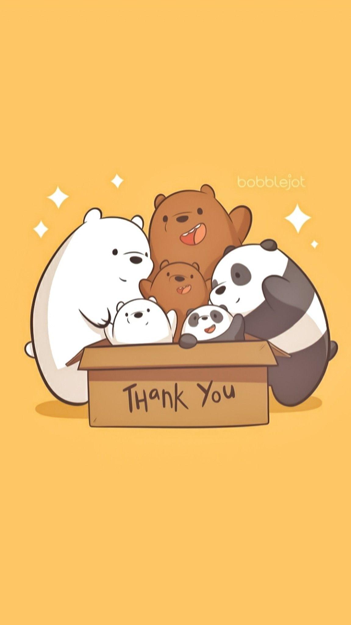 Pin Oleh Ulyana Fedorchuk Di We Bear Bears Boneka Hewan Kartun Ilustrasi Karakter