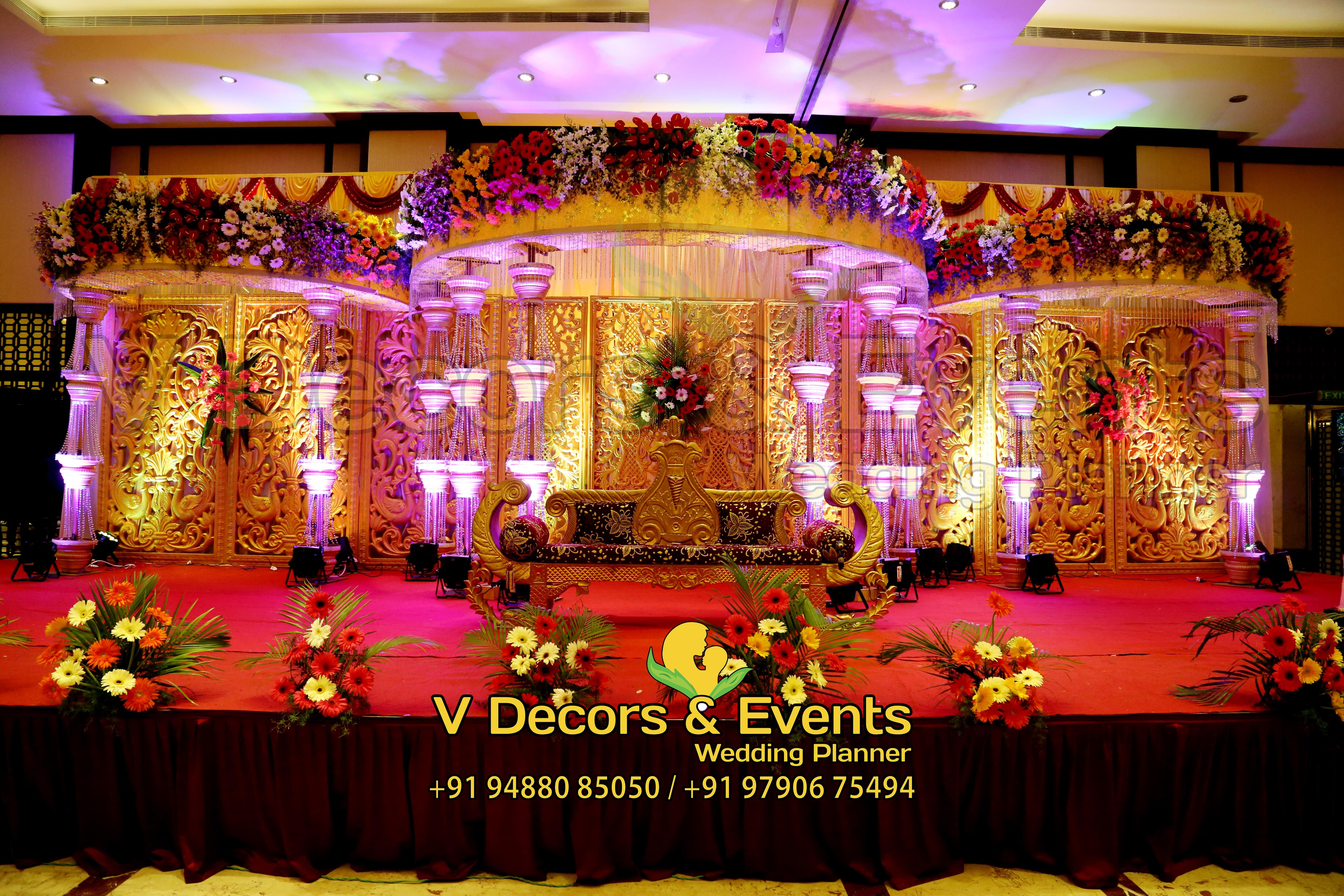 Pin by v decors and events on wedding decorations in pondicherry hall decorations wedding decorations pondicherry wedding planners style chennai swag wedding planer wedding decor junglespirit Gallery