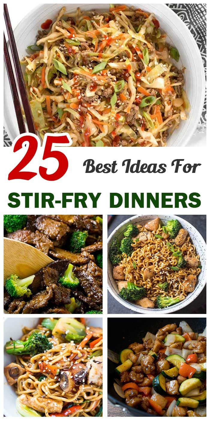 25 Stir-Fry Dinners For Busy Days – Easy and Healthy Recipes #cabbagestirfry 25 Stir-Fry Dinners For Busy Days – Easy and Healthy Recipes #stirfryshrimp