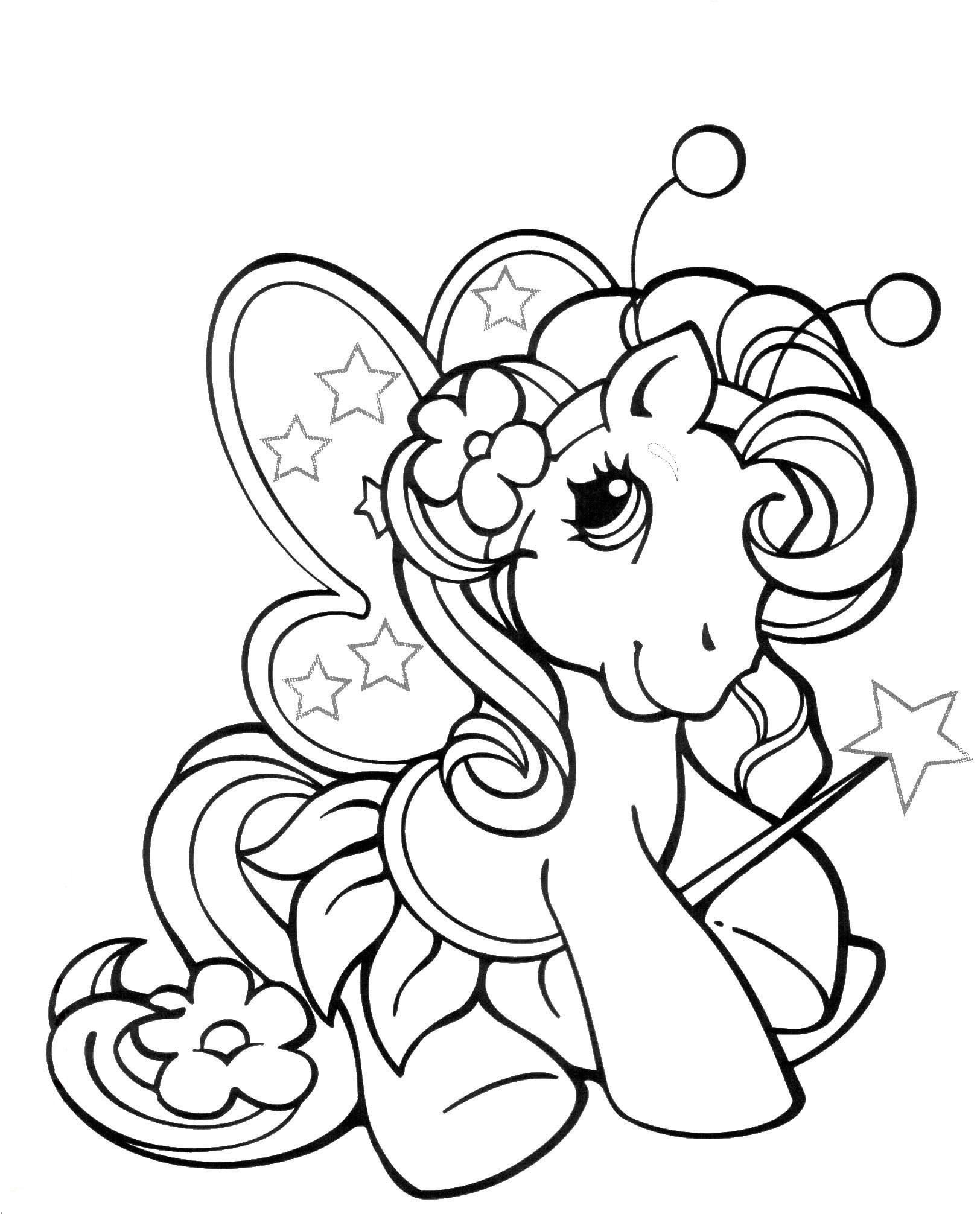 Coloriage poney coloriage poney imprimer dessin anti - Coloriage poney ...