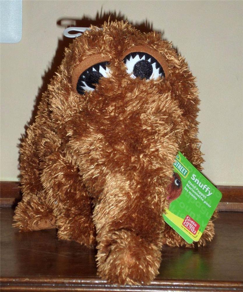Sesame Street Snuffleupagus Puppet Looks New Wow Stuff To Buy