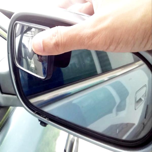Set Of 2 Peel Stick Adjustable Blind Spot Automotive Mirror Works On All Vehicles Blind Spot Mirrors Mirror Words Automotive