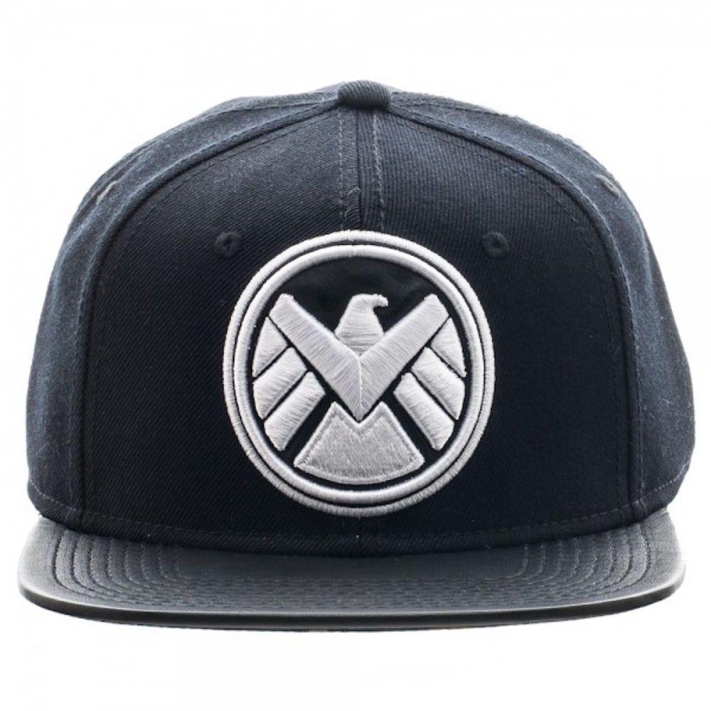 Marvel Agents Of Shield Patch Emblem Sublimated Under Flat Brim Baseball  Cap Hat  Marvel  BaseballCap 0ed66303d3e