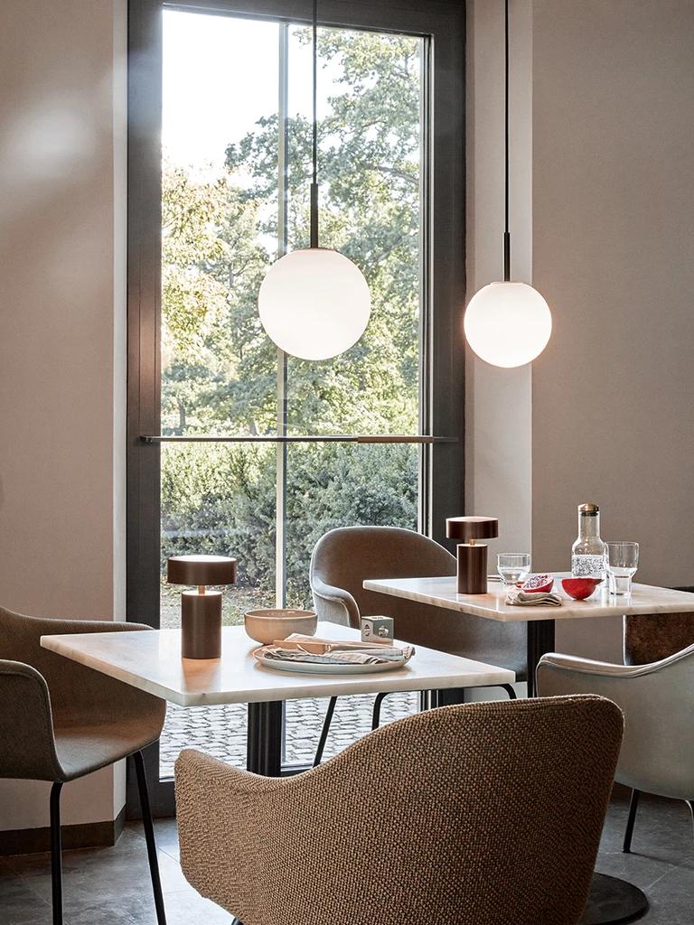 Column Led Table Lamp In 2020 Led Table Lamp Table Lamp Design