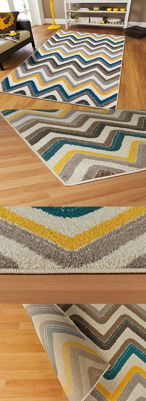 New Fashion Zigzag Style Large Area Rugs 8x11 Clearance Under 100