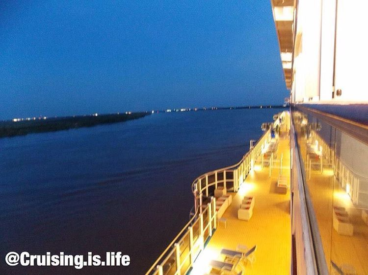 """""""A shot of the Lanai deck and the Mississippi River while on Carnival Dream! Photo by me #carnivalcruiseline #carnivalcruise #carnival #dream #dreamclass…"""""""