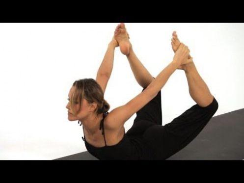 how to do a bow pose dhanurasana  yoga  youtube  easy