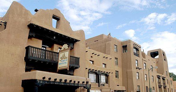 Hotel La Fonda - Santa Fe, New Mexico - January 21, 2013