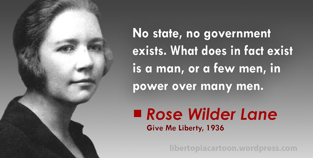 A Thoughtful Quote From Rose Wilder Lane Rosewilderlane