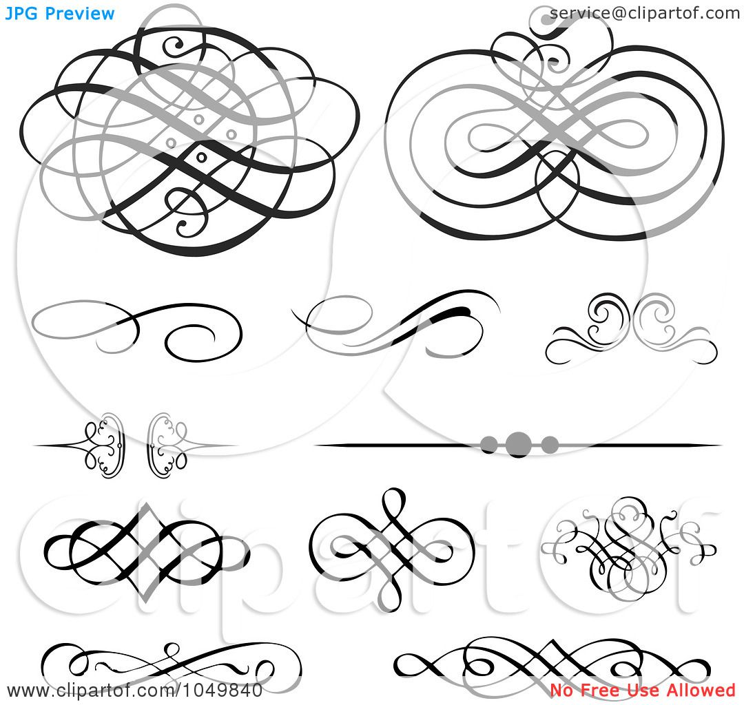 spiral vintage tattoo . digital