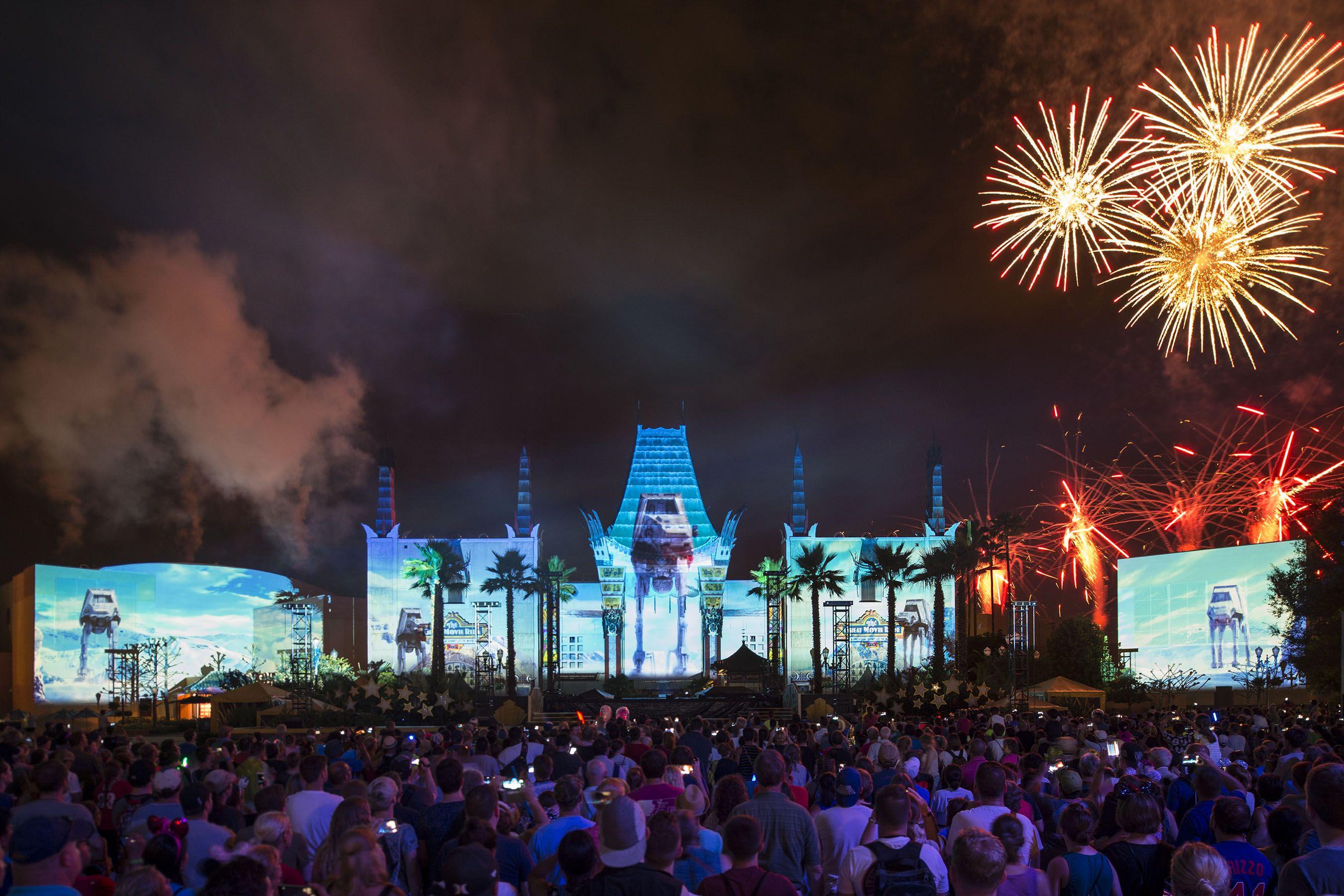 Star Wars A Galactic Spectacular at Walt Disney World