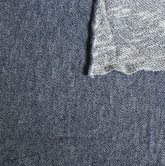 French Terry has a soft smooth face, and a looped back, this fabric is perfect for creating cozy loungewear, sweatshirts, fashionable