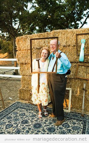photo booth pour les invit s d un mariage dans une ferme booth ferme et mariages. Black Bedroom Furniture Sets. Home Design Ideas