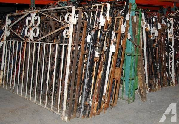 ANTIQUE WROUGHT IRON GARDEN GATES ON SALE   ANTIQUE BUSINESS RETIRING For  Sale In Albany,