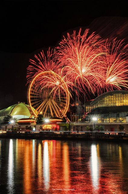 Navy Pier Fireworks - Chicago, IL  Photo by Dan Huntley #MyHometownPins