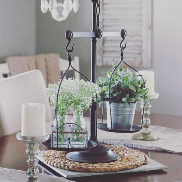 Rustic Kitchen Table Centerpiece Ideas: Modern Farmhouse Living