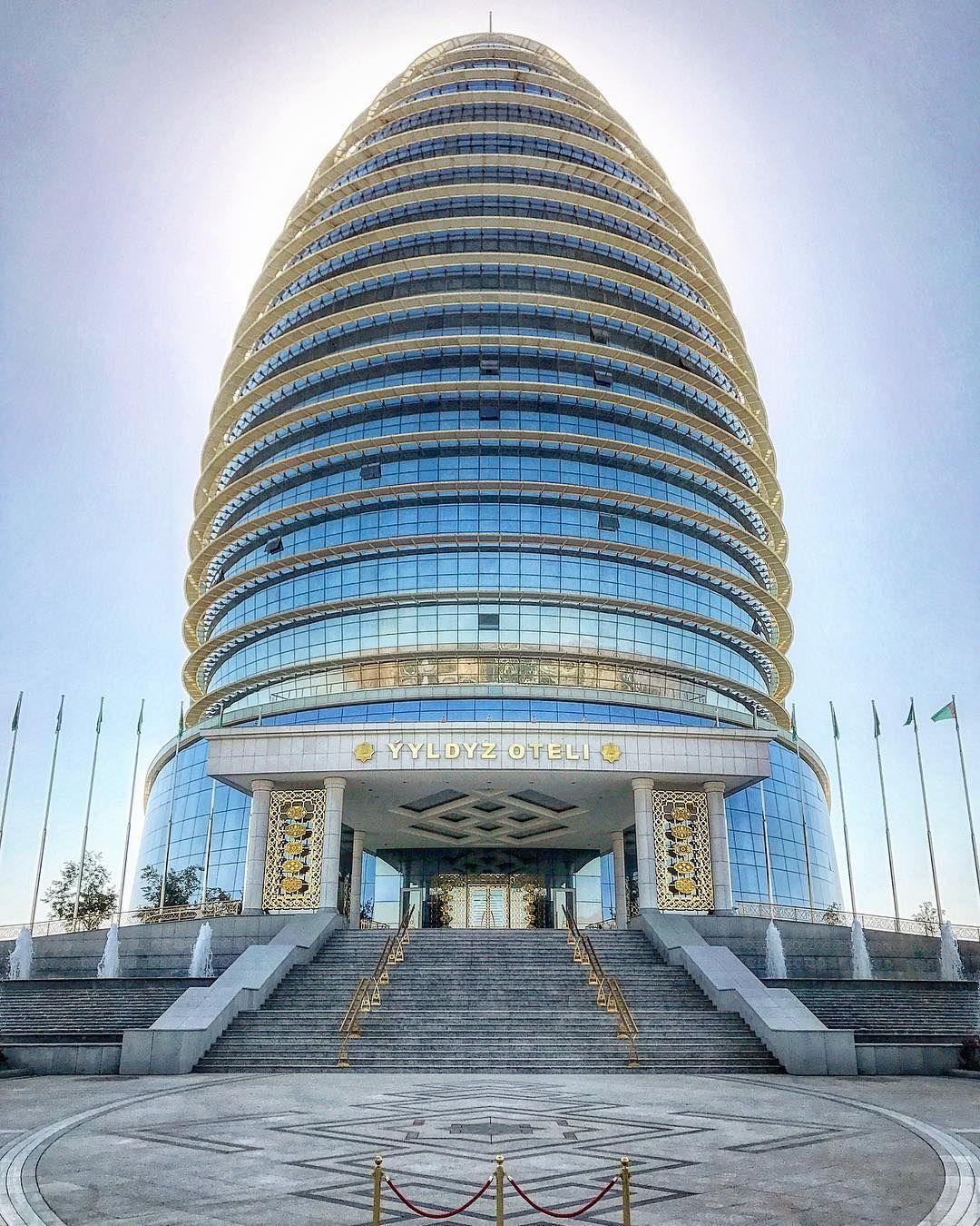 The Luxury Yyldyz Hotel In Ashgabat Turkmenistan Is