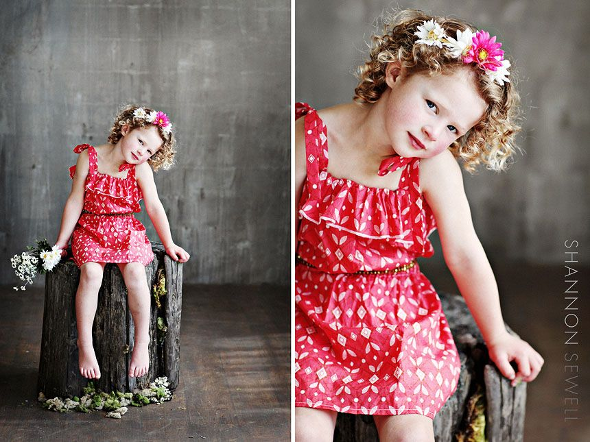 I love her hair, and the pose! Such a pro!