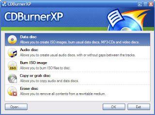 Sinada@blogspot: CDBurnerXP - Free CD & DVD burning software