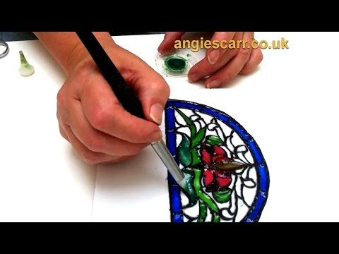 """Miniature """"Stained Glass"""" Tutorial"""