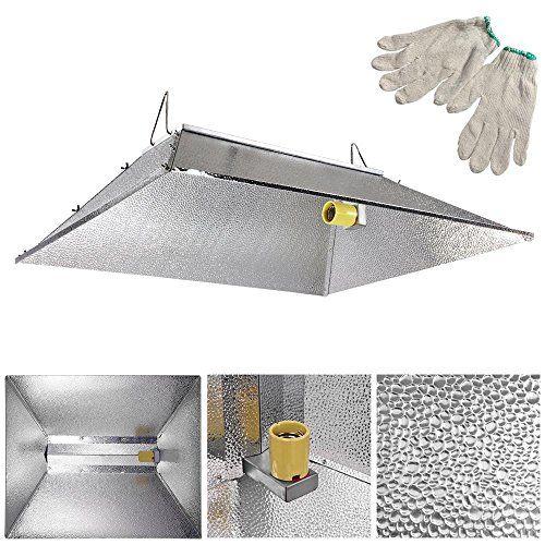 Indoor Grow Light Reflector Hood For 1000 watt HPS MH Tent (Sun plug adapter not included) Silver  sc 1 st  Pinterest & 3529 Indoor Grow Light Reflector Hood For 250w 400w 600w 1000 watt ...
