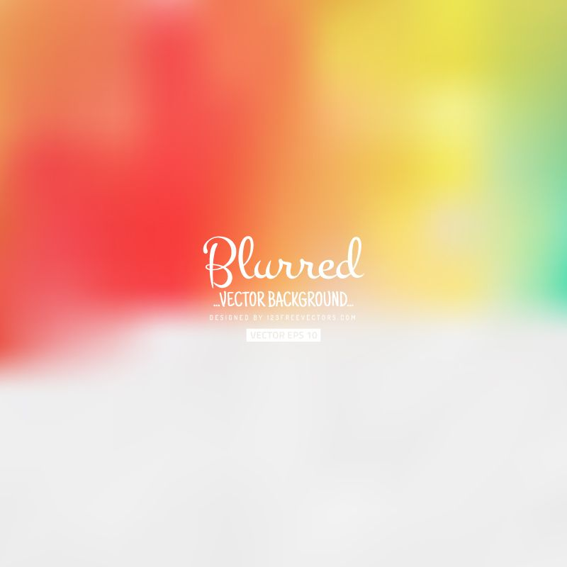 Blurred Light Color Background Vector Free Vector Free Blurred
