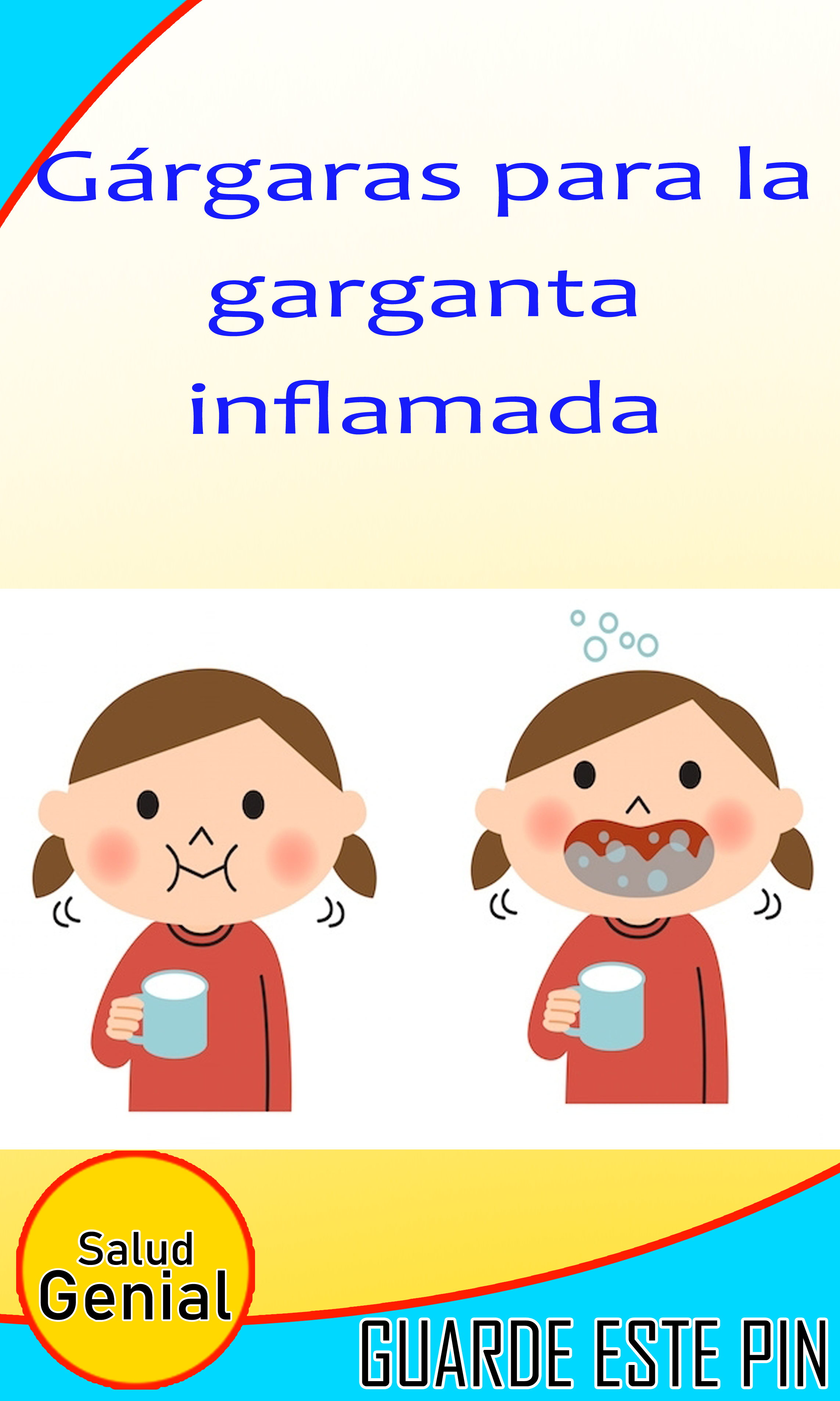 Como cuidar la garganta inflamada