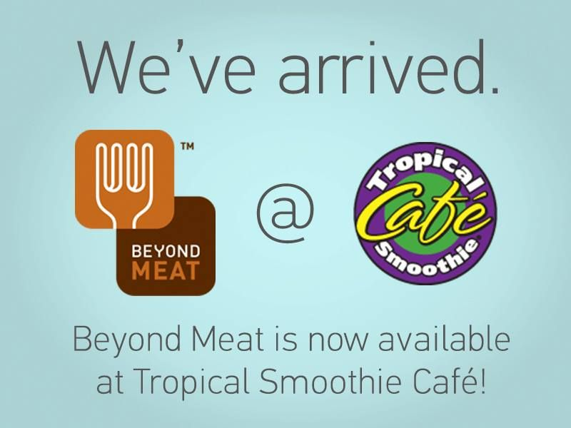 Tropical Smoothie Cafe Debuts Beyond Meat Chicken-Free Strips Nationwide http://beyondmeat.com http://tropicalsmoothie.com