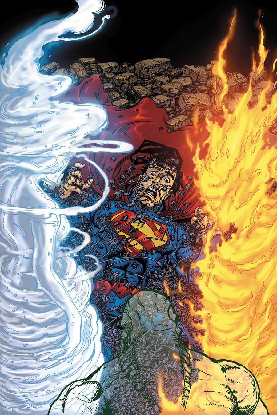 "#Superman #Fan #Art. (Superman. ""Mind for the Taking"" Vol.3#4 Cover) By: George Pérez & Brian Buccellato. ÅWESOMENESS!!!™ ÅÅÅ+"