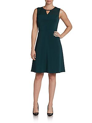36a35f55c6837 Sleeveless Keyhole-Front Dress   Report to my closet...