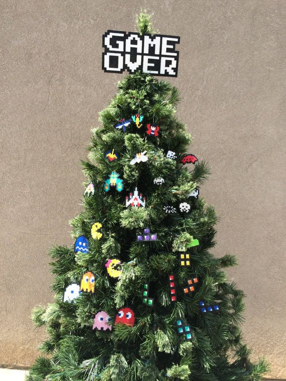 anything on this christmas tree 45 awesome christmas ornaments every video game lover needs - Christmas Decoration Games