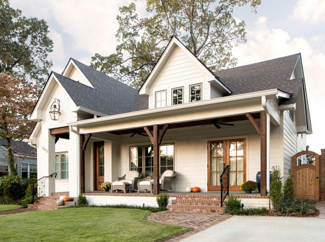 Beautiful Modern Farmhouse Exterior 21 Beautiful Modern