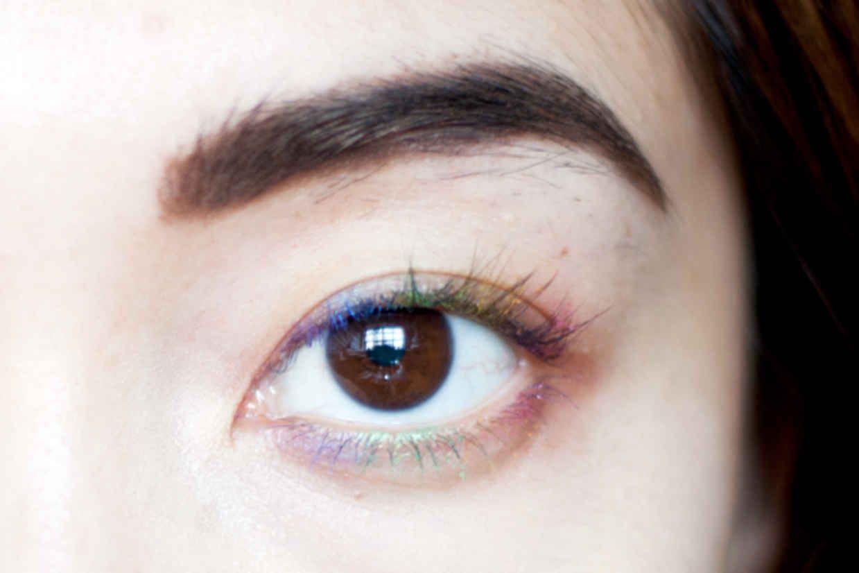 Rainbow Lashes! No Coloured Mascara Required - xoVain