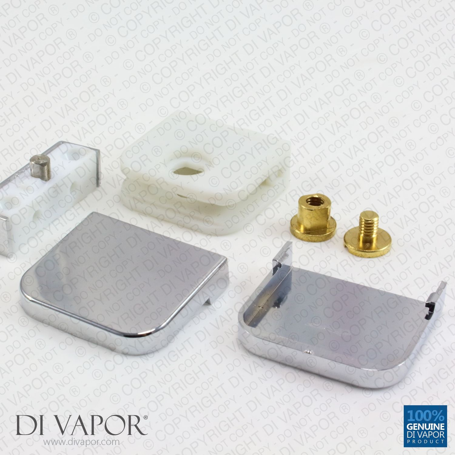 Plastic Glass Shower Door Pivot Hinge for 6mm Glass | Shower Door ...