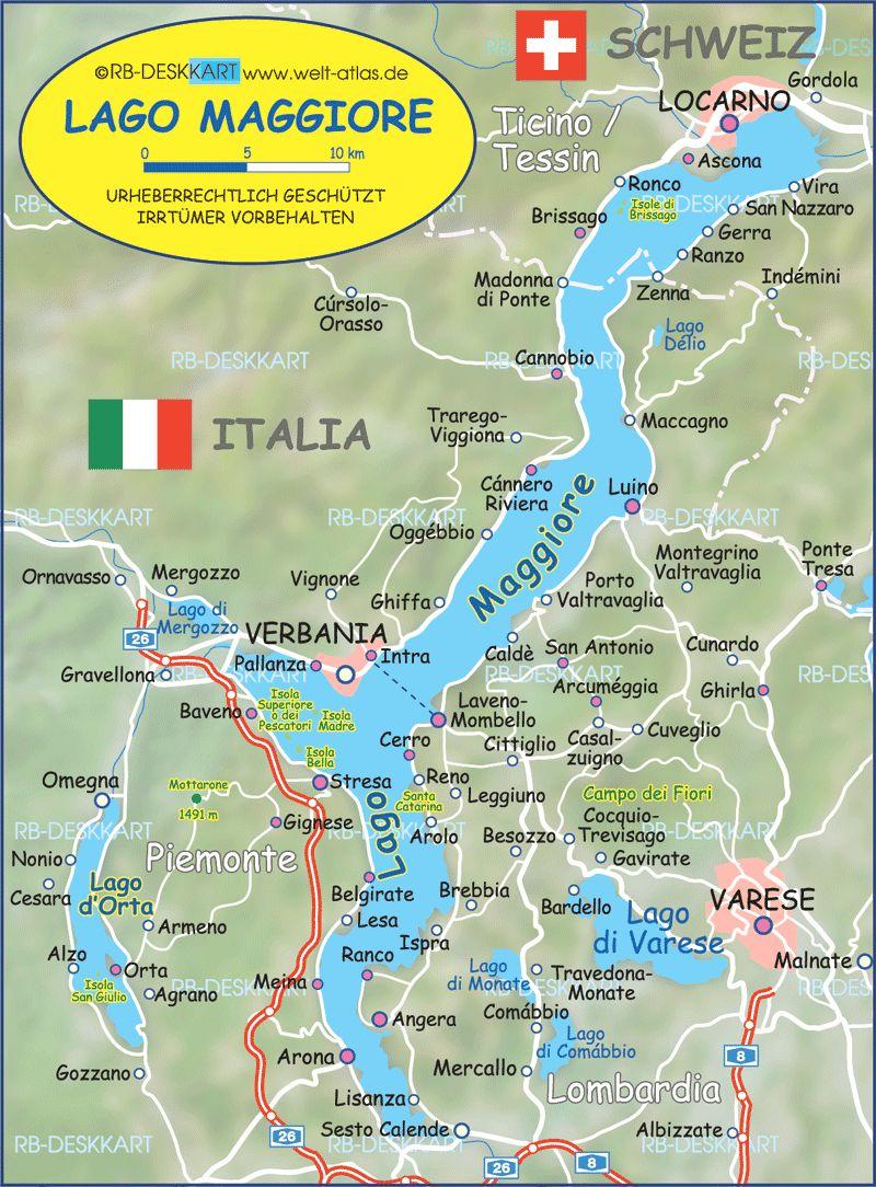 Lago Maggiore Venice Italy Map Italy Map Lake Maggiore Italy