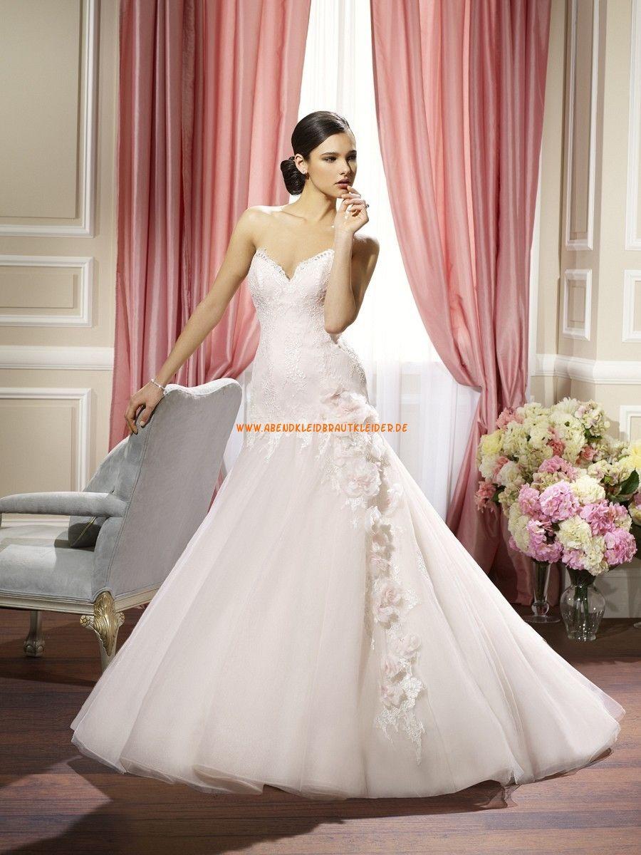Moonlight Meerjungfrau Luxuriöse Brautkleider aus Softnetz mit ...