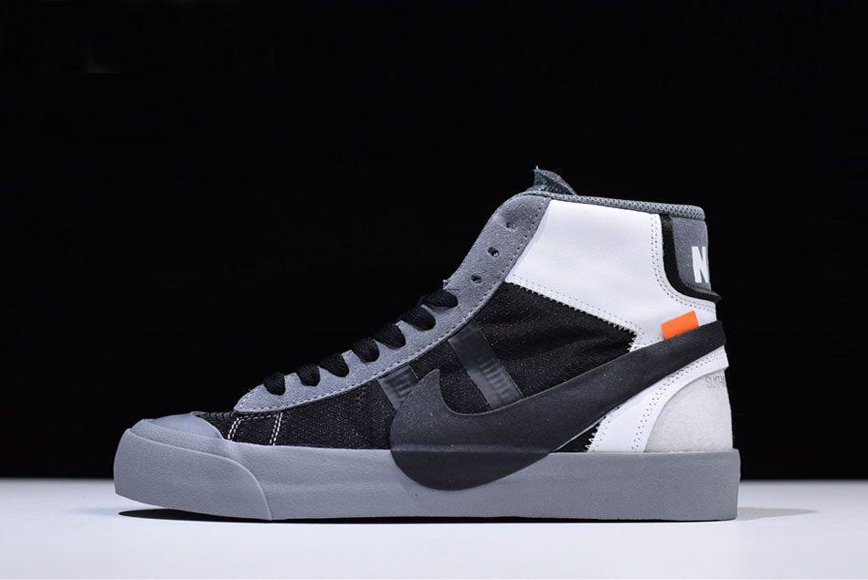 Latest Virgil Abloh's OFF WHITE x Nike Blazer Studio Mid