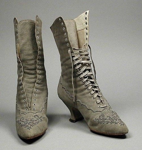 lace up boots 1890 these boots r made 4 walking pinterest schuhe stiefel und historische. Black Bedroom Furniture Sets. Home Design Ideas