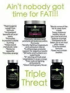Triple Threat!  Lose those unwanted pounds!