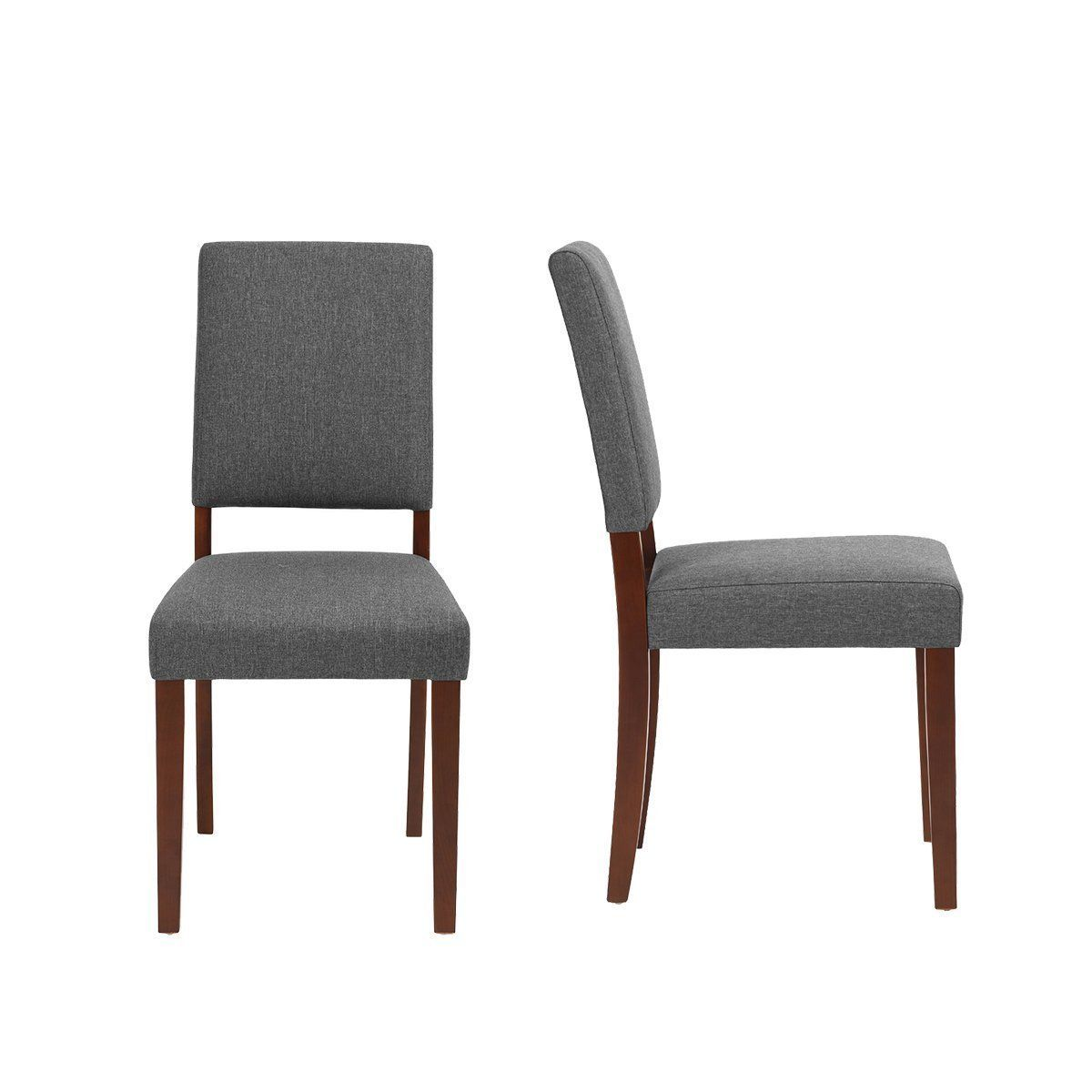 Best Amazon Com Warmcentre Set Of 2 Dining Room Chairs Linen 400 x 300