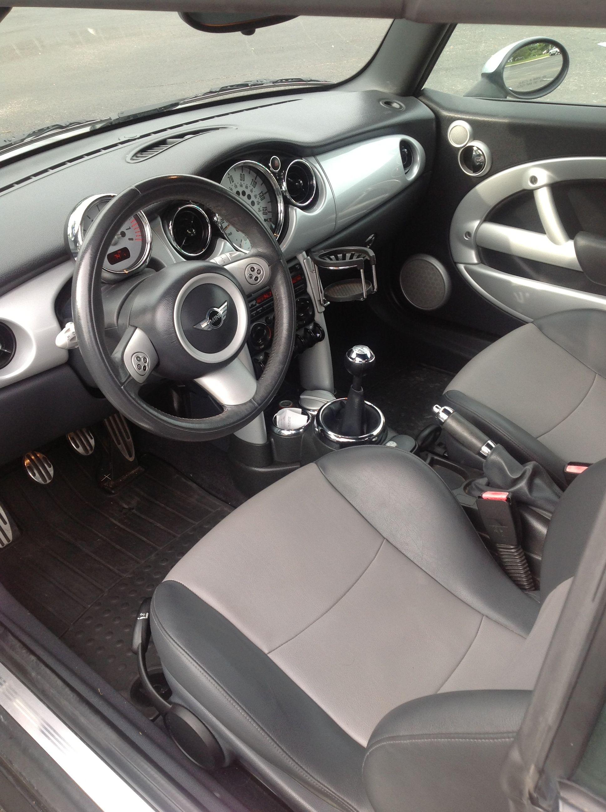 2005 Mini Cooper S Convertible Mileage 65 042 Exterior Color Silver Interior And Material