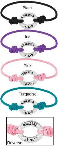 Give it To God Bandz Bracelet at Hope Faith Love   Inspirational