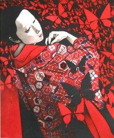 Japanese Art by the artist Kaoru Saito