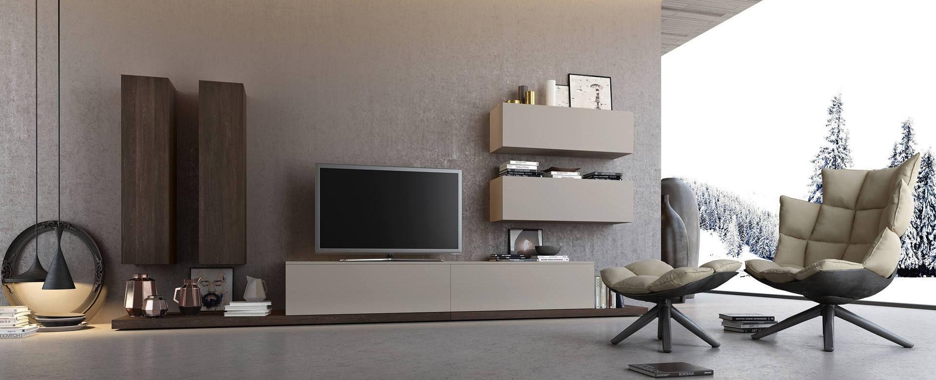 R Sultat De Recherche D Images Pour Style Contemporain Chic  # Meuble Tv Modulaire