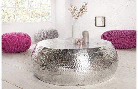 Jolie Table Basse Argent Berbere Table Basse Table Basse Design Table De Salon