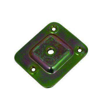Plaque De Montage Inclinaison 10 Acier A Visser H 67 X L 58 Mm Leroy Merlin Acier Plaque Montage