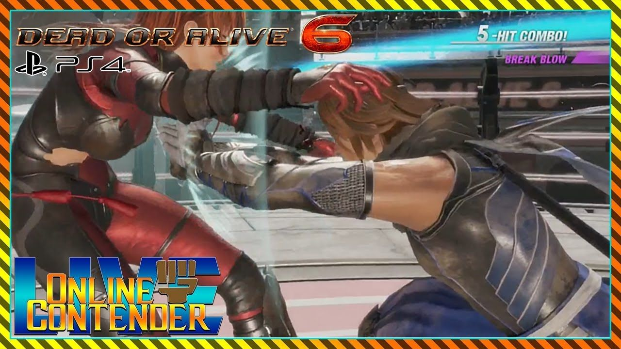 """Dead or Alive 6 online beta test (PS4) """"Getting Acquainted"""